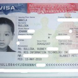 Visa L2 cho người phụ thuộc