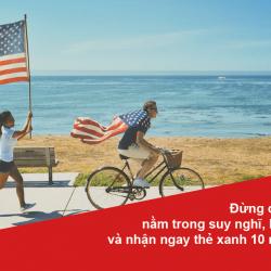 Đừng để giấc mơ Mỹ chỉ nằm trong suy nghĩ, hãy hiện thức hóa và nhận ngay thẻ xanh 10 năm với visa EB-3