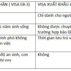 Visa EB-3, con đường chính thống & hiệu quả để trở thành công dân Mỹ