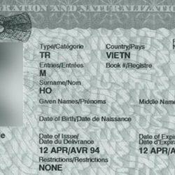 Re-Entry Permit, giấy phép tái nhập cảnh