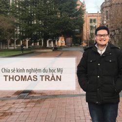 Du học Mỹ - Tham gia chia sẻ thông tin với Thomas Trần