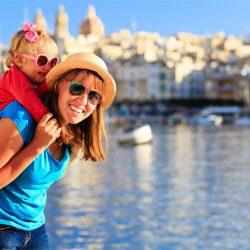 Malta lý tưởng cho phụ nữ và gia đình có con nhỏ như thế nào?