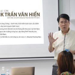 Nhà đầu tư Việt tìm hiểu về thuế Mỹ với Giáo sư Tiến sĩ Henrik Hiển