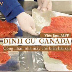 Định cư Canada - Việc làm AIPP tháng 7/2019: Công nhân nhà máy chế biến hải sản