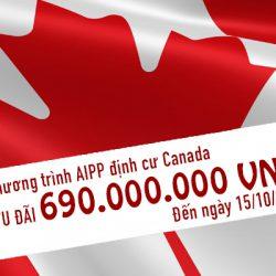 20 suất việc làm AIPP định cư Canada với chi phí thấp, cơ hội duy nhất trong năm 2019