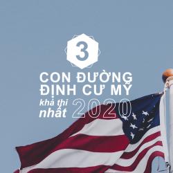 Tọa đàm: 3 CON ĐƯỜNG ĐỊNH CƯ MỸ KHẢ THI NHẤT TRONG NĂM 2020