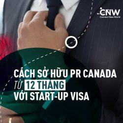 CÁCH CHỌN DỰ ÁN START-UP VISA SỞ HỮU THẺ PR CANADA THÀNH CÔNG