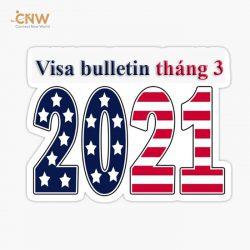 Bản tin thị thực visa bulletin tháng 3/2021: Bức tranh tươi sáng về định cư Mỹ