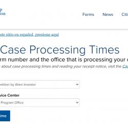 USCIS công bố thời gian xử lý hồ sơ EB-5 tháng 5/2021